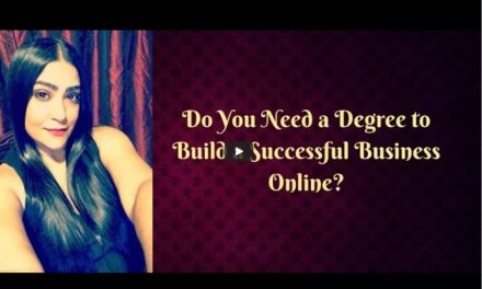 Do you need a College Degree to Build a Successful Business Online?