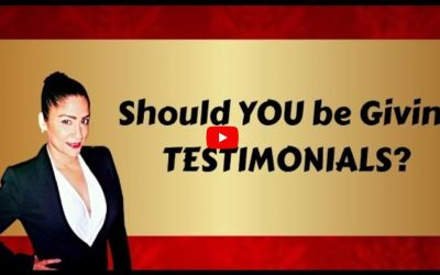 Do You know When you Should be Giving Testimonials?