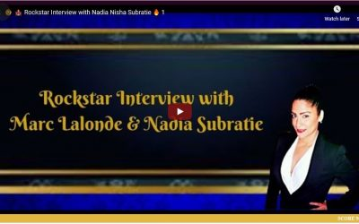 Rock star Interview with Nadia Nisha Subratie